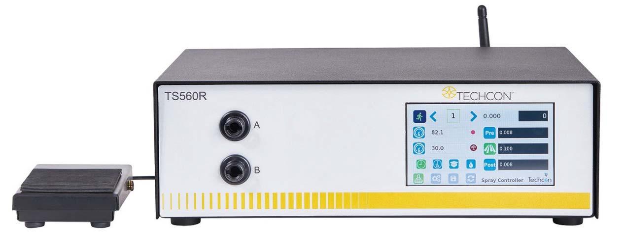 Sterownik zaworów natryskowych TS560R