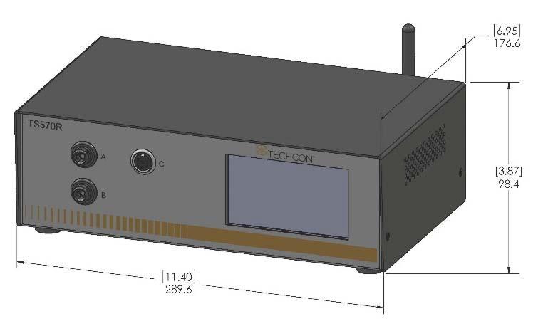Sterownik zaworów śrubowych TS570R
